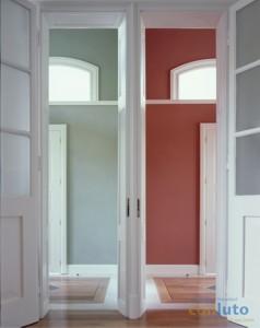 naturbauhof lehmputz mit einer nat rlichen diffusionsoffenen wand und deckenfarbe streichen. Black Bedroom Furniture Sets. Home Design Ideas