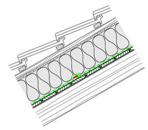 Naturbauhof Luftdichtung Und Dampfbremse Im Dach Bei Aufsparrendammung