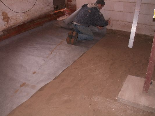 Dämmung Fußboden Erdreich ~ Fußboden dämmung gegen erdreich